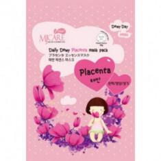 Маска тканевая с плацентой Mijin Care Daily Dewy Placenta mask pack 25г