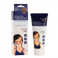 Маска-пленка очищающая Welcos Touch Therapy Cacao Pore Clear Nose PackPeel off Type 60гр