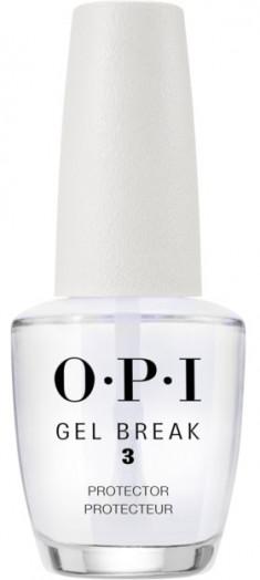 OPI Покрытие верхнее защищающее с глянцевым финишем / Gel Break Protector Top Coat 15 мл