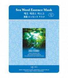 Маска тканевая морские водоросли Mijin Sea Weed Essence Mask 23г