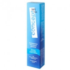 Concept Soft Touch - Крем-краска для волос безаммиачная, тон 7.0 Светло-русый, 60 мл