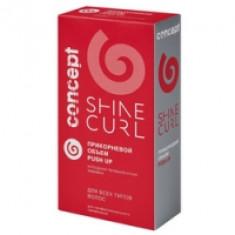 Concept Push Up Volume Bio Curl Former Kiт - Набор для холодной перманентной завивки для всех типов волос, 100 мл+100 мл
