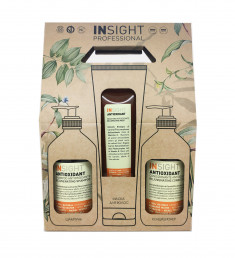 INSIGHT Набор для волос ANTIOXIDANT (шампунь 400 мл, кондиционер 400 мл, маска 250 мл)