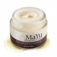 крем для лица питательный secret key mayu healing facial cream