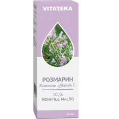 Витатека Масло Розмарин эфирное 10мл Vitateka