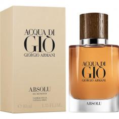 GIORGIO ARMANI ACQUA DI GIO ABSOLU парфюмерная вода мужская 40мл