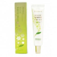 крем для лица осветляющий антивозрастной с экстрактом зеленого чая deoproce magic white cream green tea