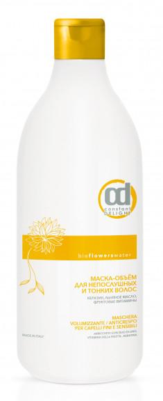 CONSTANT DELIGHT Маска-объем для непослушных и тонких волос / BIO FLOWER 1000 мл
