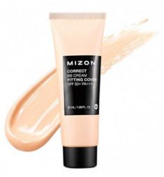ВВ-крем корректирующий антивозрастной MIZON Correct BB-Cream Fitting Cover SPF 50+ PA+++