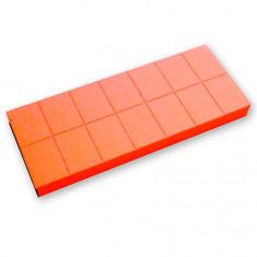 ruNail, Баф мини, оранжевый, 100/180