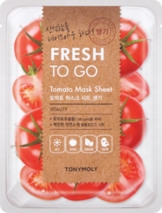 Освежающая тканевая маска для лица с экстрактом томата Tony Moly Fresh To Go Tomato Mask Sheet 20г
