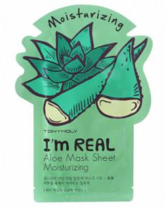 Маска с экстрактом алоэ Tony Moly I'm Aloe Mask Sheet 21 мл