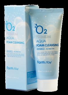FARMSTAY Пенка очищающая с кислородом / Cleansing Foam 100 мл