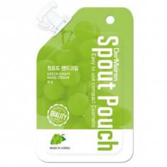 крем для рук увлажняющий с экстрактом винограда dermeiren green grape moisture hand cream