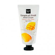 FarmStay, Крем для рук Tropical Fruit Mango&Shea Butter, 50 мл