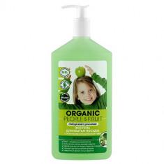 Organic People Эко гель для мытья посуды Органическое зеленое яблоко и киви 500 мл