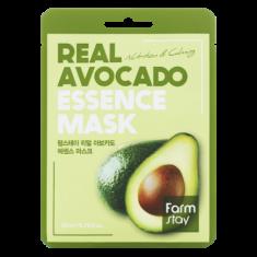 Тканевая маска для лица с экстрактом авокадо FARMSTAY REAL AVOCADO ESSENCE MASK 23 мл
