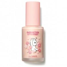 база под макияж the saem over action little rabbit eco soul peach base spf44 pa++