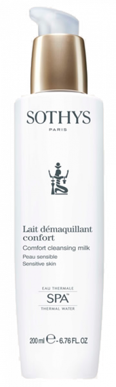 SOTHYS Молочко очищающее с экстрактом хлопка и термальной водой для чувствительной кожи / ESSENTIAL PREPARING TREATMENTS 200 мл