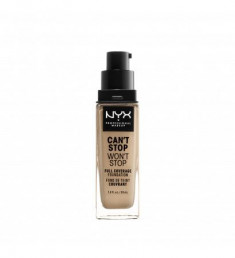 NYX PROFESSIONAL MAKEUP Тональная основа Can't Stop Won't Stop Full Coverage Foundation - Buff 10