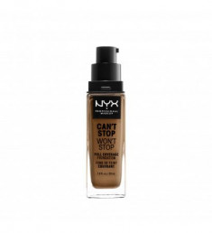 NYX PROFESSIONAL MAKEUP Тональная основа Can't Stop Won't Stop Full Coverage Foundation - Honey 158