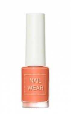 Лак для ногтей THE SAEM Nail wear 96. Orange Coral 7мл