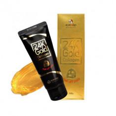 Маска-пленка очищающая с 24к золотом Eyenlip 24K GOLD COLLAGEN PEEL OFF PACK 100г