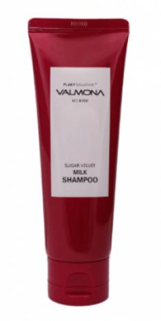 Шампунь для волос ЯГОДЫ EVAS VALMONA Sugar Velvet Milk Shampoo 100 мл