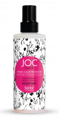 BAREX Спрей-кондиционер двухфазный для волос Стойкость цвета, абрикос и миндаль / JOC COLOR 200 мл