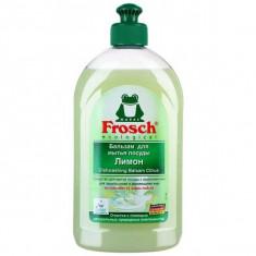 Frosch Бальзам для мытья посуды лимон 500мл