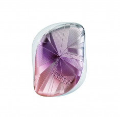 TANGLE TEEZER Расческа для волос / Compact Styler Smashed Holo Blue