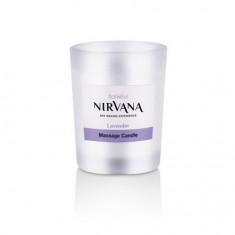 Italwax, Массажная свеча-масло с запахом лаванды Nirvana, 50 мл