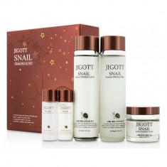набор с муцином улитки jigott snail moisture skin care 3 set