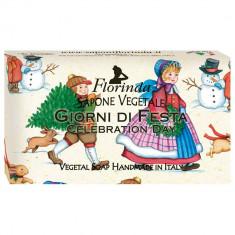 FLORINDA Мыло растительное, праздничный день / Giorni Di Fiesta 100 г