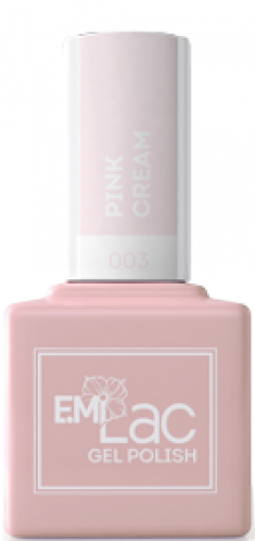 E.MI 003 гель-лак для ногтей, Розовые сливки / E.MiLac 9 мл