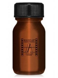 Кремовая краска для лица и тела Make-Up Atelier Parisм AQBR коричневый