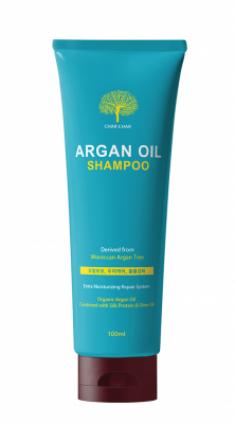 Шампунь для волос АРГАНОВЫЙ EVAS Char Char Argan Oil Shampoo 100 мл