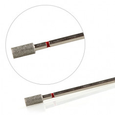 KrasotkaPro, Фреза алмазная «Цилиндр» D=4 мм, красная