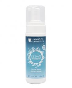 JANSSEN COSMETICS Мусс очищающий для лица Летний бриз / OCEAN TREASURE 150 мл