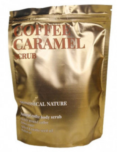 Скраб для тела Кофе и карамель Skinomical Nature Coffee Caramel Scrub 250г