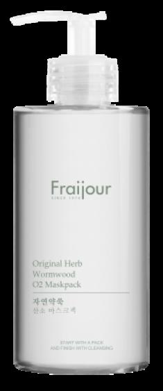 Маска для лица КИСЛОРОДНАЯ EVAS Fraijour Original herb wormwood O2 Maskpack 300мл