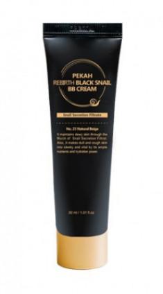 BB-крем с муцином черной улитки PEKAH Rebirth Black Snail BB Cream тон21 30 мл