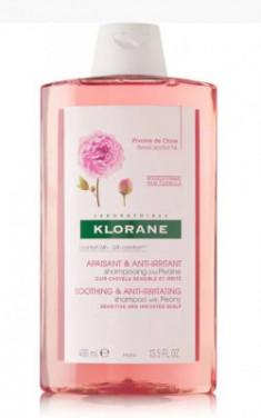 Шампунь успокаивающий с экстрактом Пиона Klorane Soothing Shampoo with Peony Extract 400 мл