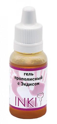 INKI Гель прополисный c экдисом / Propolis gel with ekdys 15 мл