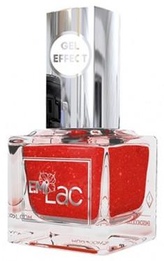 E.MI 096 лак ультрастойкий для ногтей, Красный песок / Gel Effect 9 мл