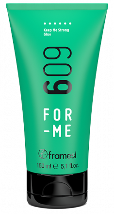 FRAMESI Гель экстрасильной фиксации для волос / FOR-ME 609 KEEP ME STRONG GLUE 150 мл