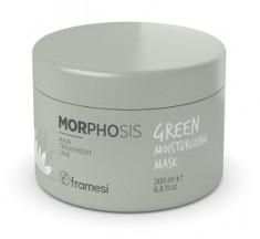 FRAMESI Био-маска увлажняющая для волос / GREEN MOISTURIZING MASK 200 мл