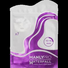 Маски освежающие для увлажнения кожи лица Manly PRO WM7 7 шт