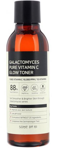 SOME BY MI Тонер выравнивающий с галактомисисом и витамином С / Galactomyces Pure Vitamin C 200 мл