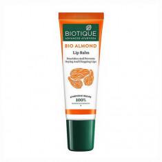 Biotique, Бальзам для губ Bio Almond, 10 г
